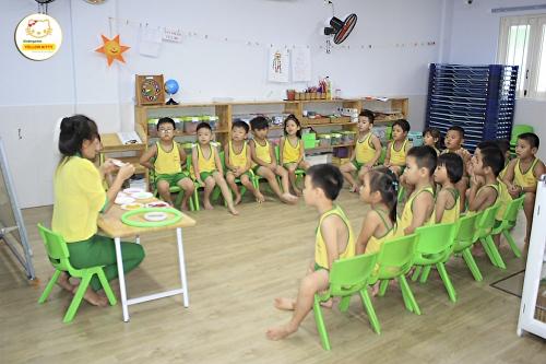 Phương pháp giúp trẻ tập làm quen với bộ môn Tiếng Anh